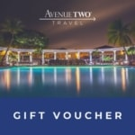 A2T gift voucher image of pool at night