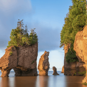 photo of rocks and water from The Ultimate Maritime Road Trip