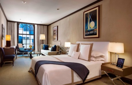 The Chatwal, New York King Suite view of bed